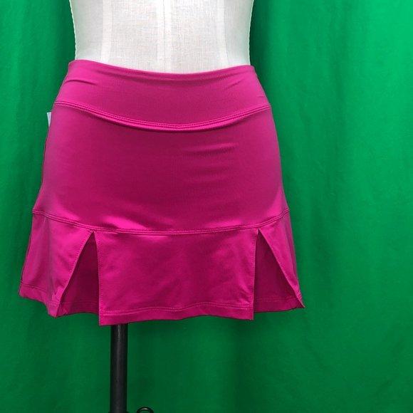 Nike Drifit Small Pink Activewear Skort Pleated
